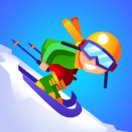 滑雪胜地空闲大亨