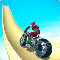 英雄摩托车特技