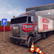 城市大巴停车场3D