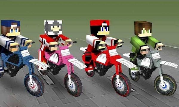 越野方块摩托车