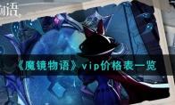 魔镜物语vip价格表一览