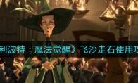 哈利波特:魔法觉醒飞沙走石使用攻略