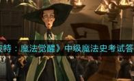 哈利波特:魔法觉醒中级魔法史考试答案汇总