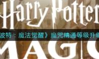 哈利波特:魔法觉醒魔咒精通等级升级攻略