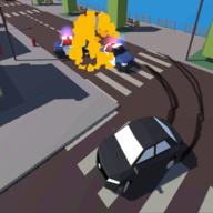 城市汽车碰撞事故