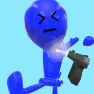 粉碎气球人