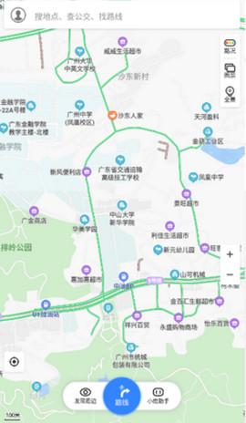 百度地图谷歌精简版
