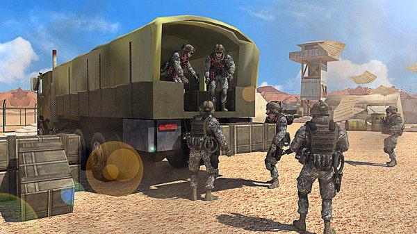 军用武器和货物运输