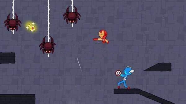 红蓝英雄人战士