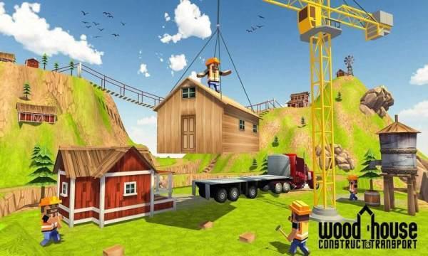 木屋建造模拟器