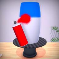 塑料花瓶DIY